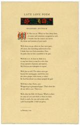 Late Love Poem